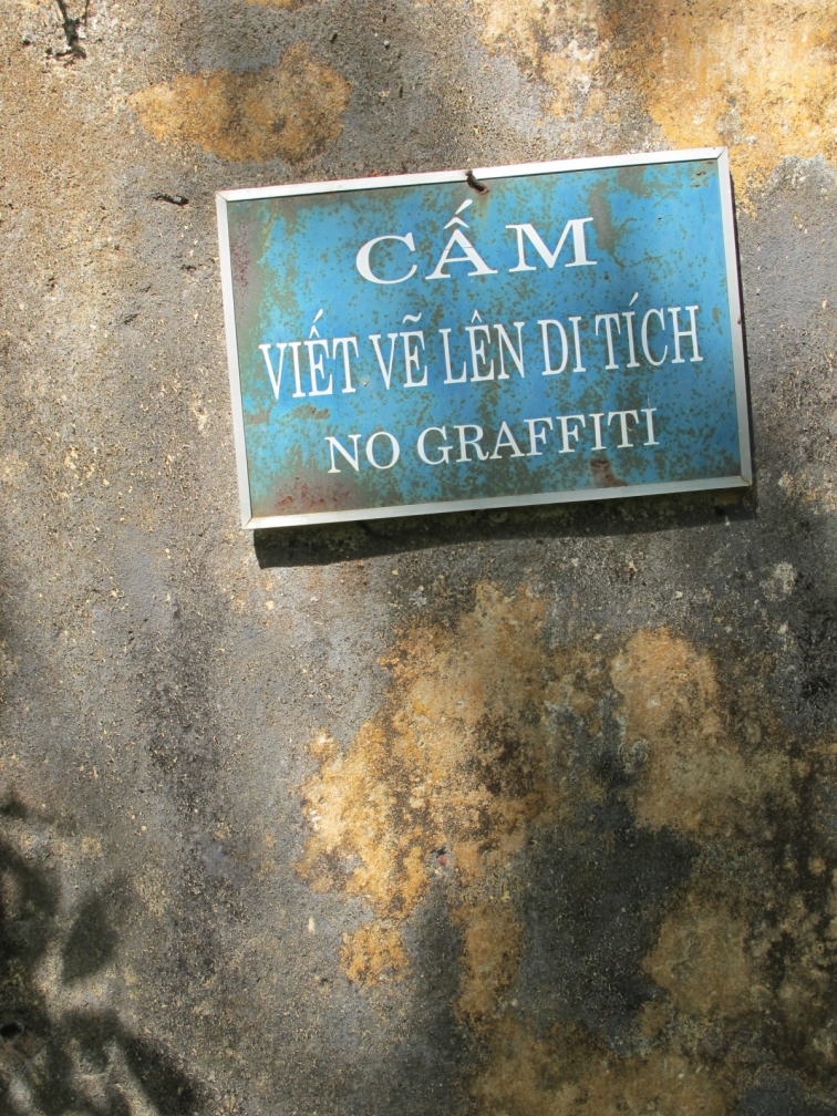 no graffiti